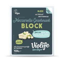 Bloque Violife sabor Mozzarella