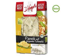 Raviolis veganos y ecológico rellenos de fundido 250 g