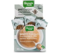 Sustituto vegano de la leche en polvo para café 30x3g Whity