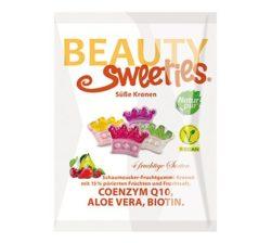 Coronitas de gominola con frutas
