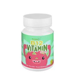 Vitamina B12 masticable para niños (120 uds)